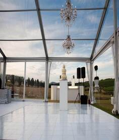 Clear Frame Tents | Cozi Hire